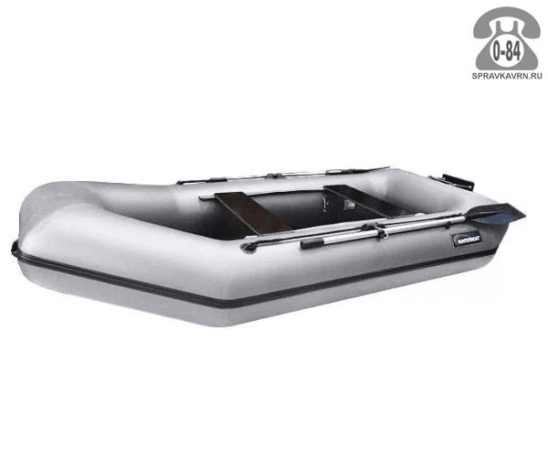 Лодка надувная Hunterboat Хантер 280 ЛТ, серый 280041