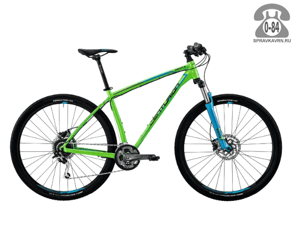 "Велосипед Центурион (Centurion) Backfire Pro 200.29 (2017) размер рамы 21.5"" зеленый"