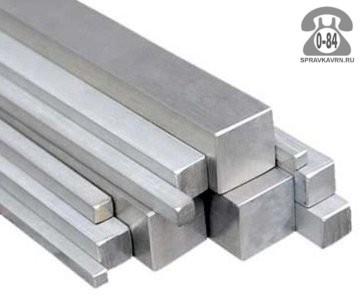 Квадрат металлический стальной 30 мм