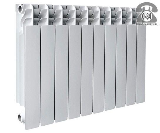 Биметаллический радиатор отопления Лонтек (Lontek) 500 4 секции