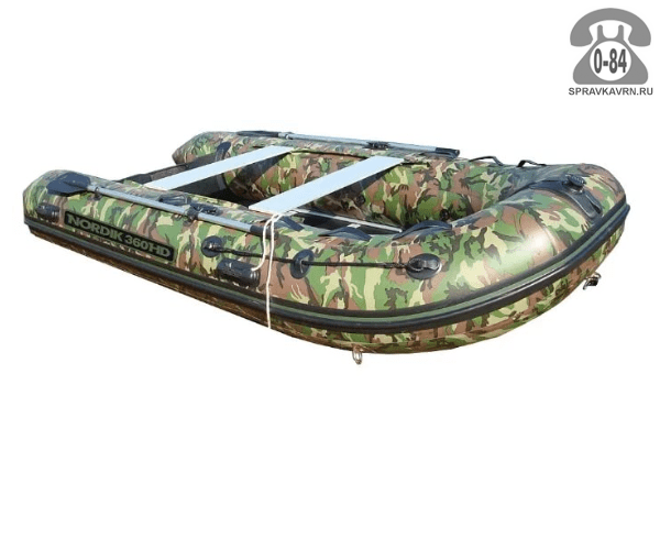 Лодка надувная Нордик (Nordik) HARDY 360HD, камуфляж