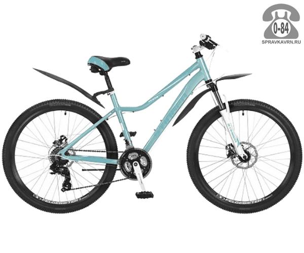 "Велосипед Стингер (Stinger) Vesta D 26"" (2017), рама 15.5"" размер рамы 15.5"" зеленый"