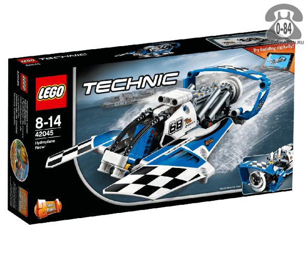 Конструктор Лего (Lego) Technic 42045 Гоночный гидроплан, количество элементов: 180