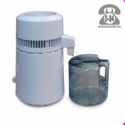 Дистиллятор воды BL9803 настольный 750 Вт 1 л/час нержавеющая сталь электрический с автоматической системой контроля 3.5 кг бытовой Китай