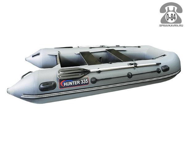 Лодка надувная Hunterboat Хантер 335, серый 335001