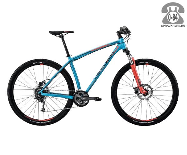 "Велосипед Центурион (Centurion) Backfire Pro 100.27 (2017) размер рамы 17.5"" синий"