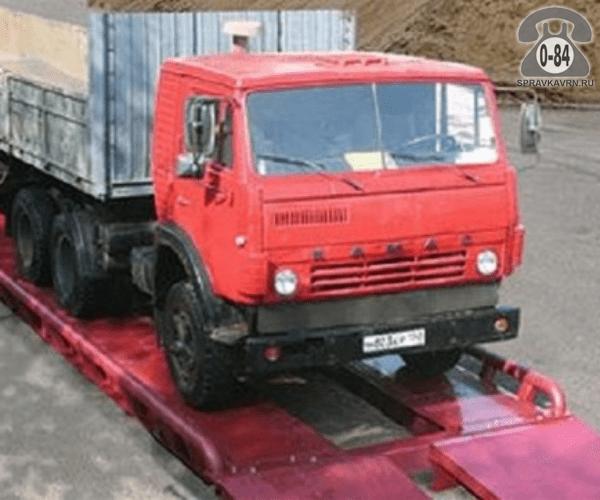Весы автомобильные ВА-О-100т-23 Руслан + 23000*3600 мм 100 т