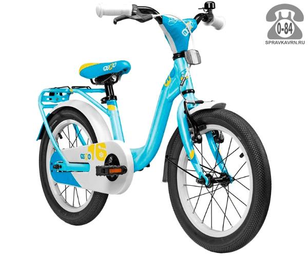 Велосипед Скул (Scool) niXe 16 alloy (2017), синий