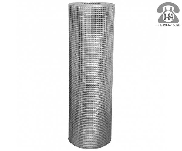 Строительная сетка диаметр 1.6мм  ячейка 20x10мм ширина 1м