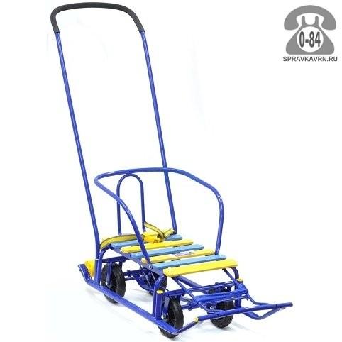 Санки Ника Тимка 5 Классик синие Т5У