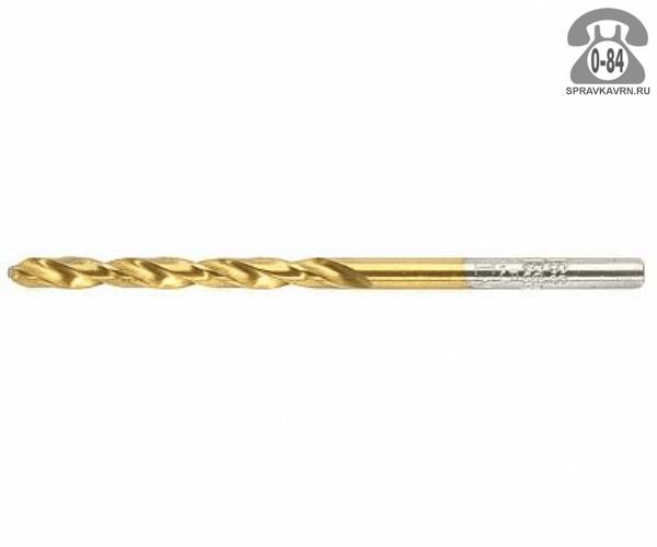 Сверло Хайссер (Haisser) 3.5мм для материала металл