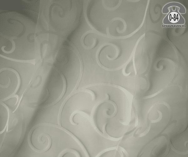 Тюль лёгкая прозрачная для штор Milano 2062 /С1