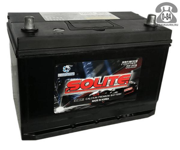 Аккумулятор для транспортного средства Солайт (Solite) 6СТ-110 полярность прямая, 303*172*225мм