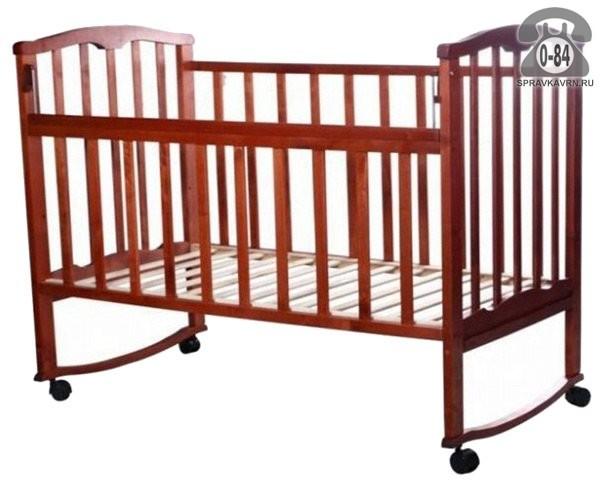 Кроватка Агат Золушка-1, качалка (полозья)