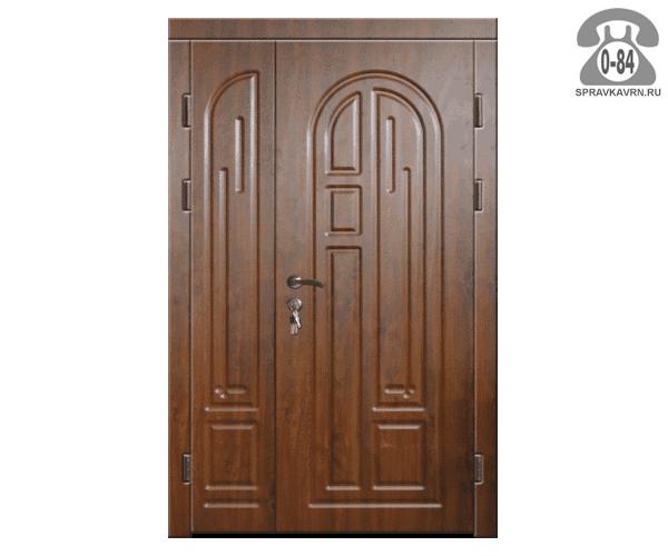 Дверь входная металлическая сталь (стальная) распашная