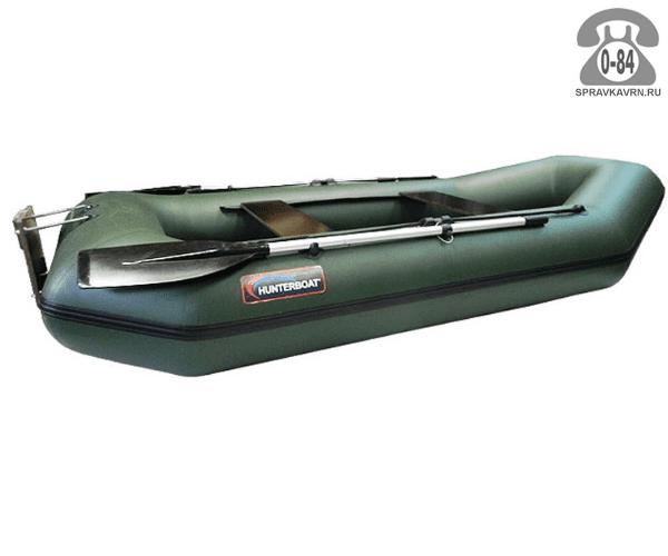Лодка надувная Hunterboat Хантер 280 ЛТ, зеленый 280042