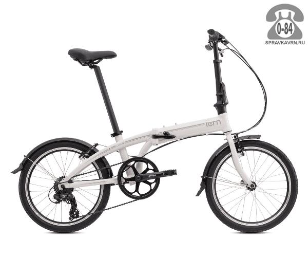 Велосипед Терн (Tern) Link A7 (2017), белый