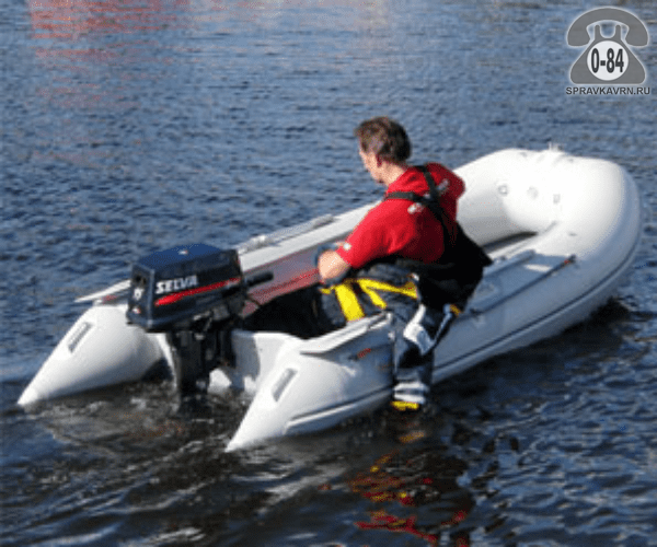 Лодка надувная Баджер (Badger) Fishing Line 330 AD