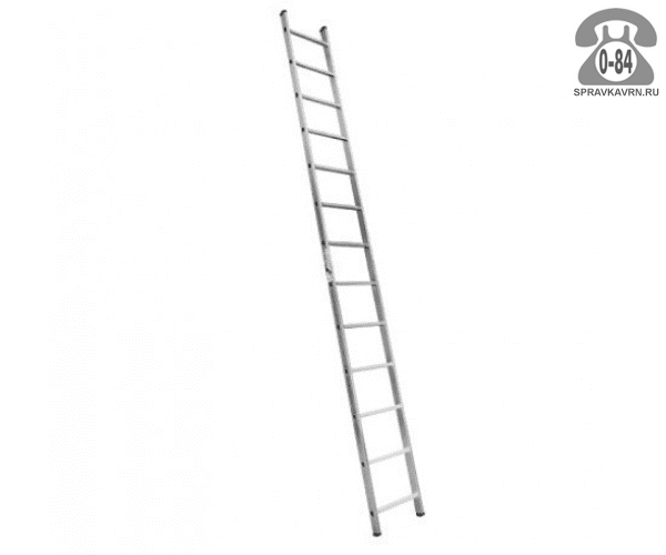 Лестница приставная Алюмет (Alumet) H1 5114