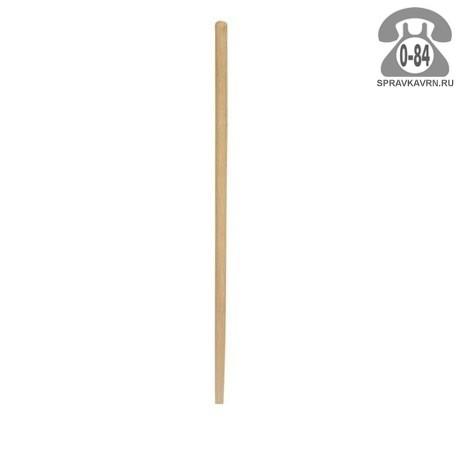 Черенок деревянный 40 мм 1200 мм для лопаты высший шлифованная г. Владимир