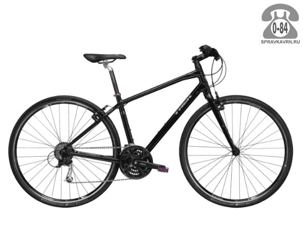 """Велосипед Трек (Trek) 7.3 FX WSD (2016), рама 18"""" размер рамы 18"""" черный"""