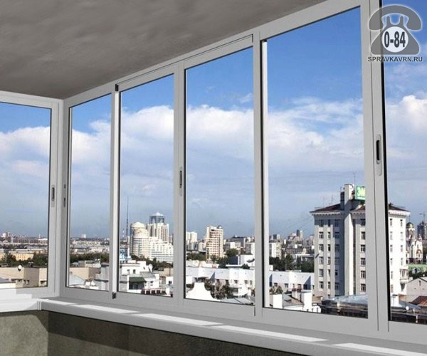 Где заказать остекление балкона алюминиевым профилем в во....