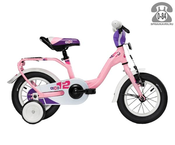 Велосипед Скул (Scool) nixe 12 alloy (2017), розовый