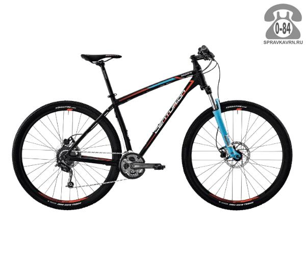 """Велосипед Центурион (Centurion) Backfire Pro 800.29 (2017) размер рамы 21.5"""" черный"""