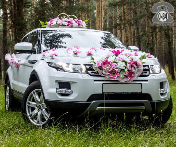 Автомобиль на свадьбу Рейндж Ровер (Range Rover) внедорожник 5 г. Воронеж аренда (прокат) предложение