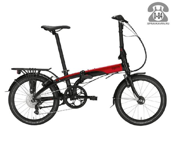 Велосипед Терн (Tern) Link D8 (2017), черный