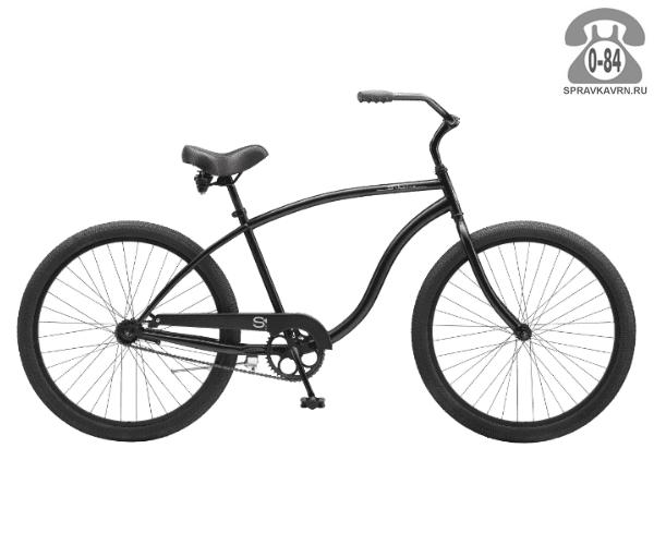 "Велосипед Электра (Electra) Cruiser 1 Mens (2016) размер рамы 22"" черный"