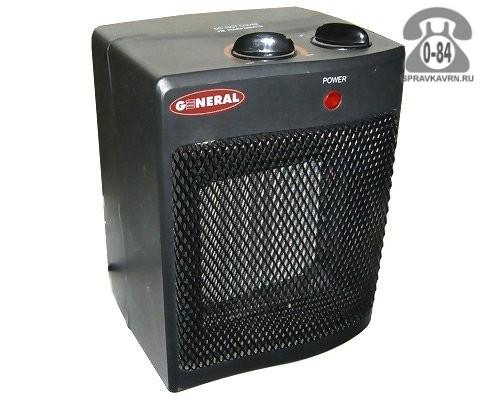 Тепловентилятор электрический бытовой Дженерал Климат (General Climate) KRP-5