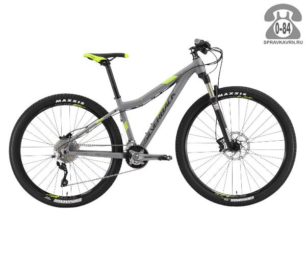 "Велосипед Сильвербэк (Silverback) SPLASH 3 (2016) размер рамы 16.5"" серый"