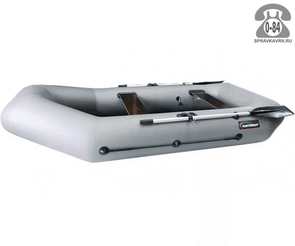 Лодка надувная Hunterboat Хантер 280 Р, серый 280061