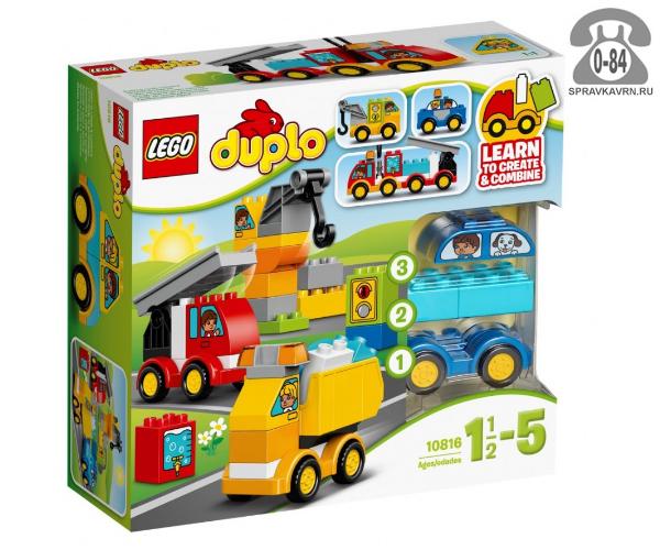 Конструктор Лего (Lego) Duplo 10816 Мои первые машинки, количество элементов: 36