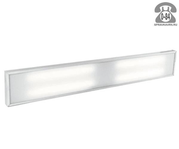 Светильник для производства SVT-ARM U-40-2x36-KL-Econom 40Вт