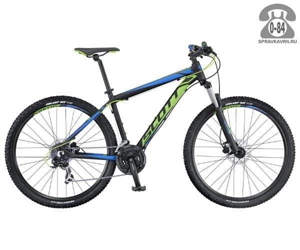 "Велосипед Скотт (Scott) Aspect 760 (2016), рама 18.5"" размер рамы 18.5"" черный"