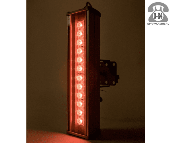 Светильник для архитектурной подсветки Эс-В-Т (SVT) SVT-ARH L-44-15-Red