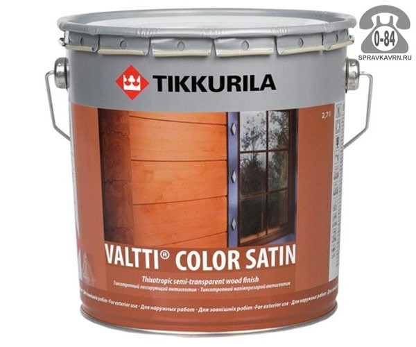Пропитка Тиккурила (Tikkurila) Валти Колор (Valtti Color)