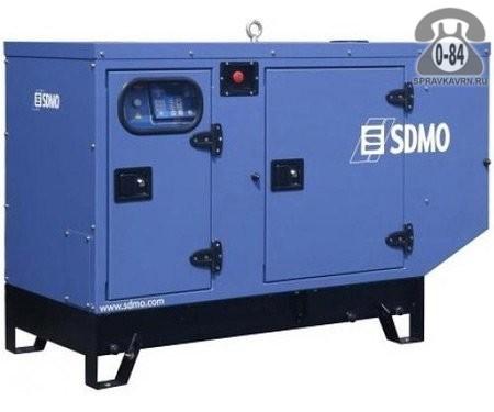 Электростанция Эс-Ди-Эм-Оу (SDMO) J22 в кожухе, двигатель John Deere