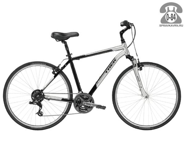 """Велосипед Трек (Trek) Verve 2 (2016), рама 18"""", черный размер рамы 18"""" черный"""