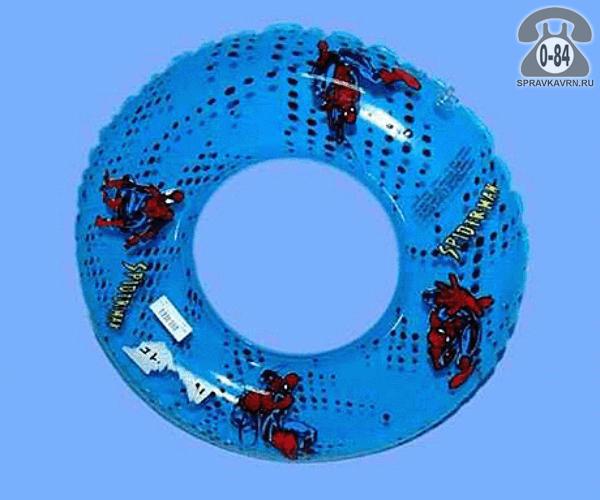 Круг надувной для плавания Мульт Герои 60 см