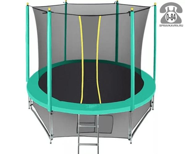 Батут Хастингс (Hasttings) Classic Green (2,44 м), максимальная нагрузка 130кГ