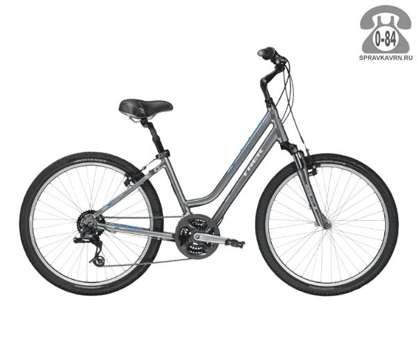 Велосипед Трек (Trek) Shift 2 WSD (2016), серый