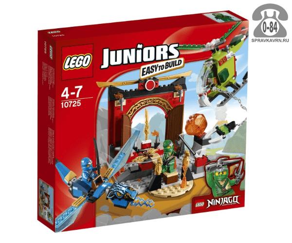 Конструктор Лего (Lego) Juniors 10725 Затерянный храм, количество элементов: 172