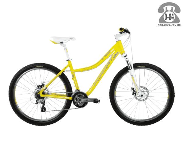 "Велосипед Формат (Format) 7712 (2017) размер рамы 17.5"" желтый"