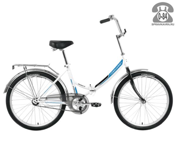 "Велосипед Форвард (Forward) Valencia 1.0 (2017) размер рамы 16"" белый"