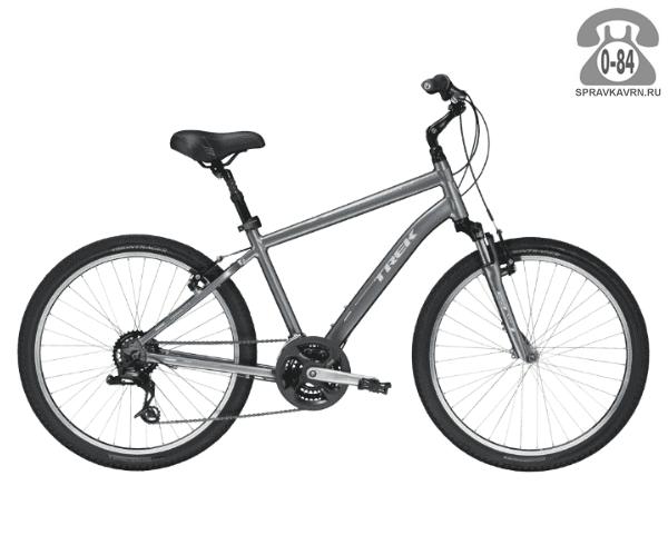 """Велосипед Трек (Trek) Shift 2 (2016), рама 17"""", серый размер рамы 17"""" серый"""