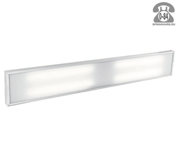 Светильник для производства SVT-ARM U-50-2x58-PR-Econom 50Вт