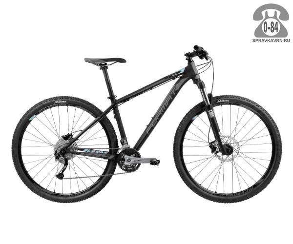 """Велосипед Формат (Format) 1214 29 (2017) размер рамы 21.5"""" черный"""